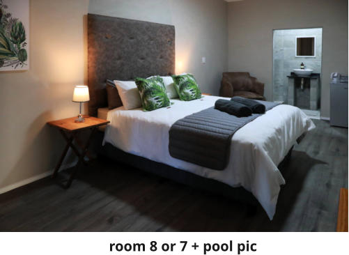 room 8 or 7 + pool pic